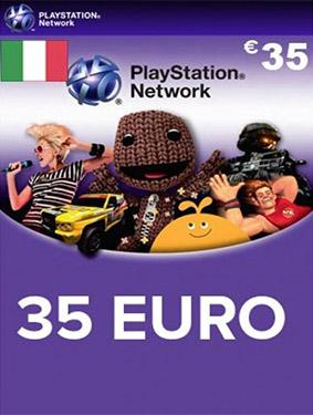 35 euros italia psn card