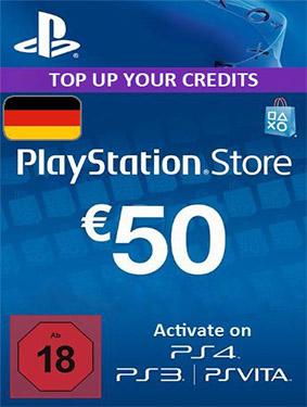 50€ psn germany card