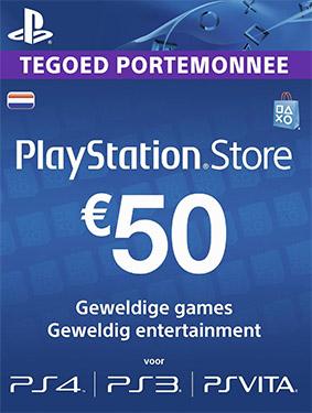 50€ psn netherlands code