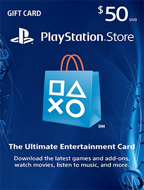 50$ psn usa card