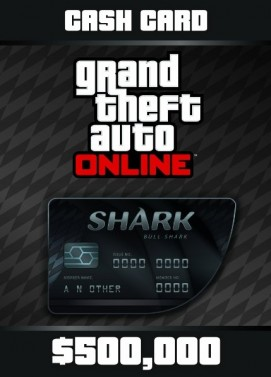 Grand Theft Auto V GTA: Bull Shark Cash Card