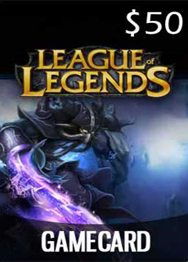 League of Legends 50 $