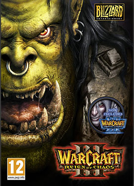 Warcraft 3 (Gold Edition inc. The Frozen Throne) Game key, Warcraft 3