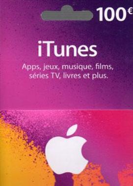 iTunes €100 Gift Card FR