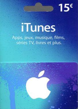 iTunes €15 Gift Card FR