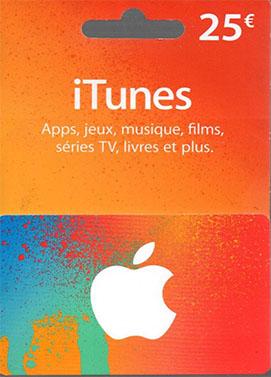 iTunes €25 Gift Card FR