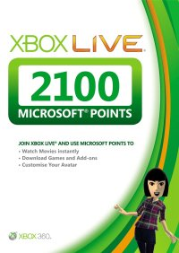 xbox-live-2100-microsoft-points